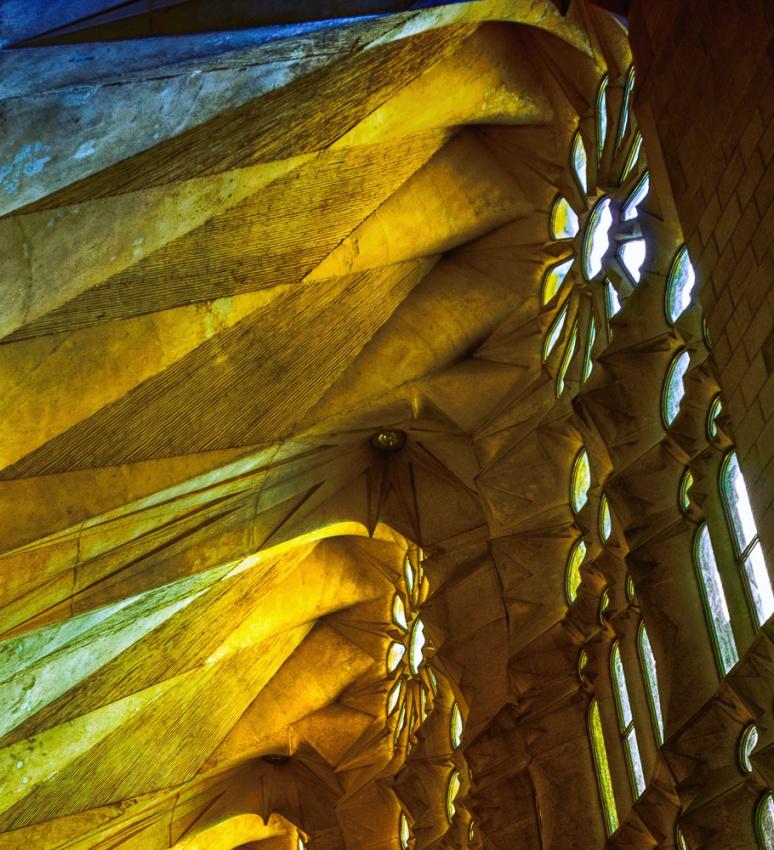 Cathedral Sagrada Familia, Barcelona, Espania