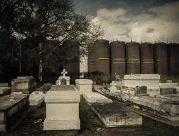 Graveyard in SW Louisianna