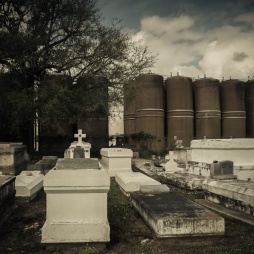 Graveyard in SW Louisianna