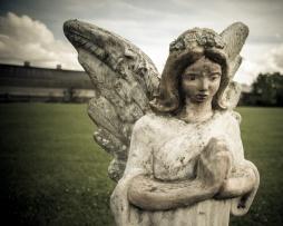 Graveyard statuary in SW Louisianna
