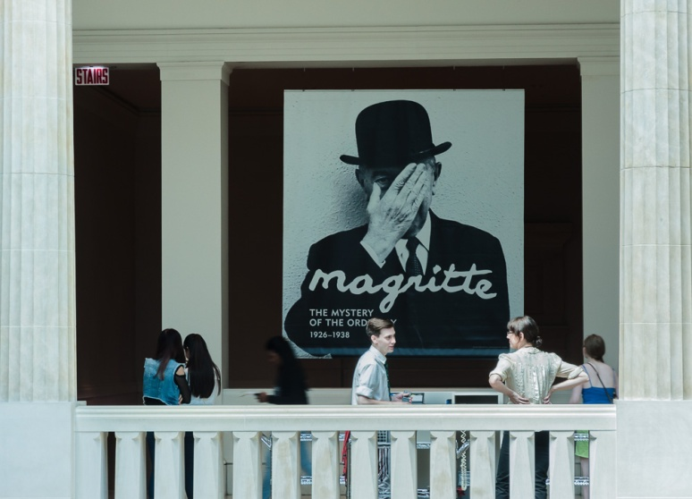 Magritte on Saturday
