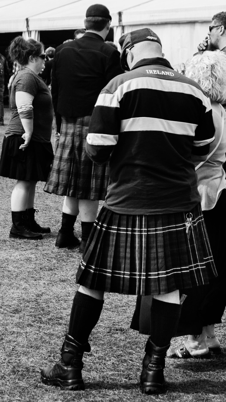 Kilts on Irish